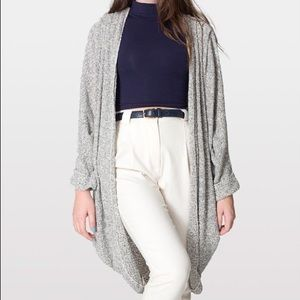 Grey OS American Apparel Bestselling Cardigan
